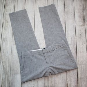 BANANA REPUBLIC Size 2P Gray Dress Pants RYAN